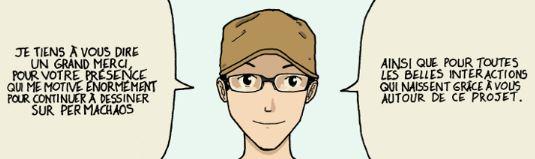 Imadhi, le dessinateur de la Transition. Permachaos, notre coup de cœur...